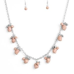 Rocky Mountain Magnificence - Brown Necklace set